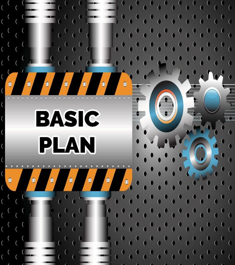 Pay Monthly Website Basic Plan