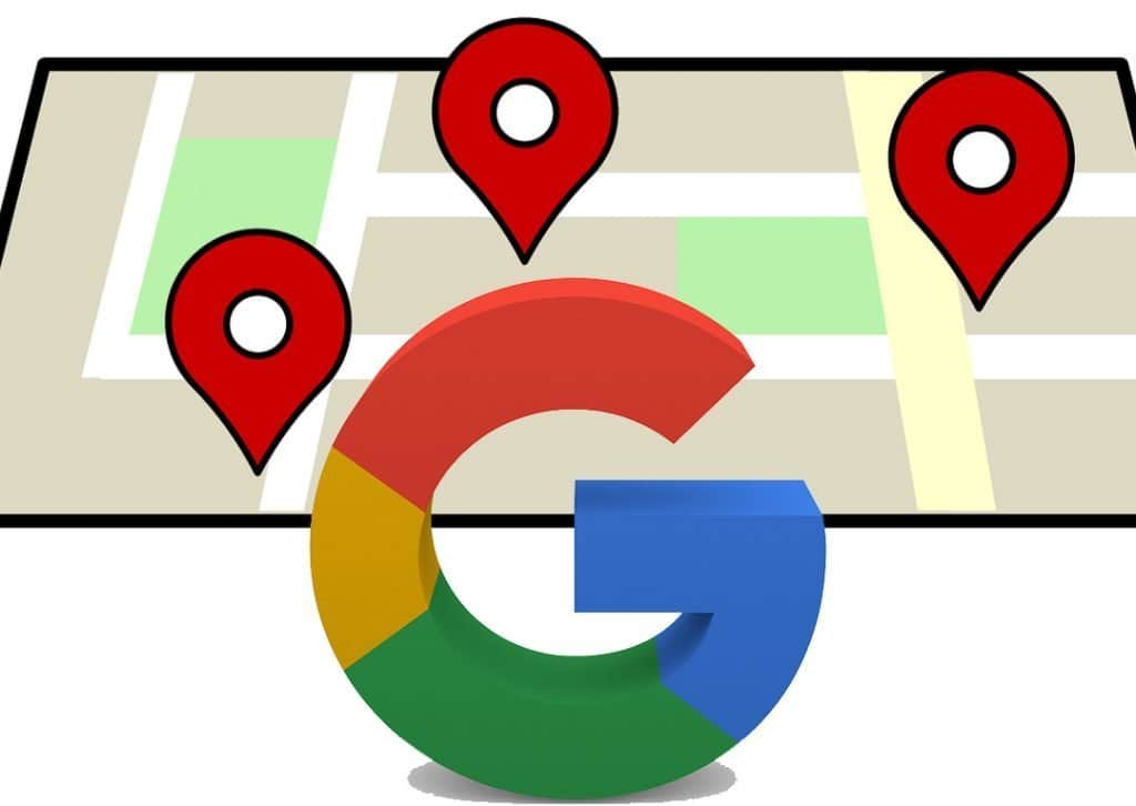 Google My Business map marker