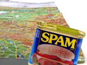 Google maps spam