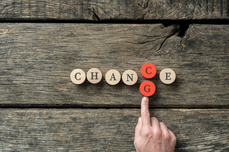 Changing the word Chance into Change